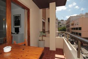 A balcony or terrace at Apartamentos Ripoll Ibiza