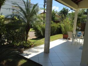 A porch or other outdoor area at Casa de Angra dos Reis