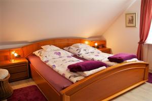 Ein Zimmer in der Unterkunft Ferienwohnungen Engelsgaertchen