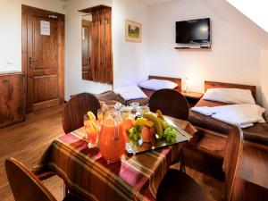 Dining area at the chalet
