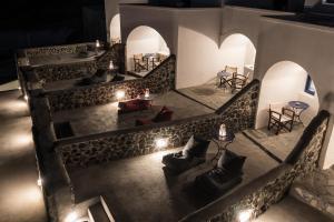 The lounge or bar area at Agnadi Villa