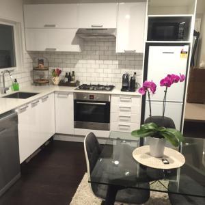 Kuchyňa alebo kuchynka v ubytovaní Rose Cottage