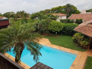A view of the pool at Casa Com Piscina Unicamp or nearby