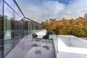 Balkon lub taras w obiekcie Apartment Baltiq