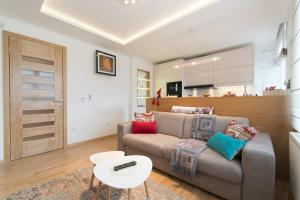 O zonă de relaxare la LikeHome Apartment Aida