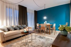 A seating area at Aparthotel Residence Agenda