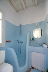 Ένα μπάνιο στο 4Z Mykonos Ftelia Villas