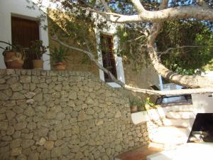A porch or other outdoor area at Cozy Villa in Can Pep Simo with Swimming Pool