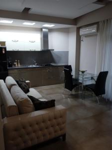 The lounge or bar area at Apartment on Rustaveli