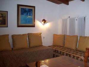 Un lugar para sentarse en Casa Abedules de los Andes