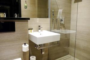 Vonios kambarys apgyvendinimo įstaigoje Medusa Gdańsk