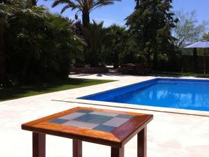 The swimming pool at or near Spacious Holiday Home in St Josep de sa Talaia with Pool