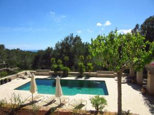 A view of the pool at Spacious Mansion in Ibiza with Swimming Pool or nearby