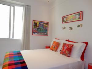Cama o camas de una habitación en Loft Saint Roman IPA04