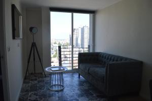 Zona de estar de Midtown Apartments