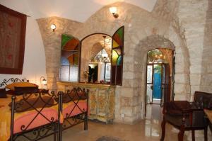 A seating area at Beit Yosef