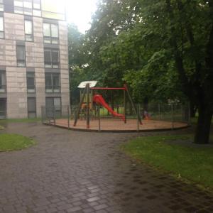 Lasten leikkialue majoituspaikassa Liivaoja Apartment