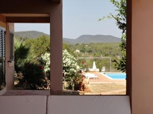 A view of the pool at Modern Holiday Home in Es Cubells with Private Pool or nearby
