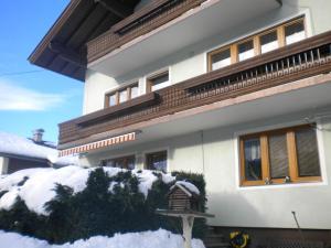 Ferienwohnung im Gästehaus Nussbaumer trong mùa đông