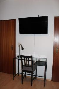 A television and/or entertainment center at Fair Trade Apartment