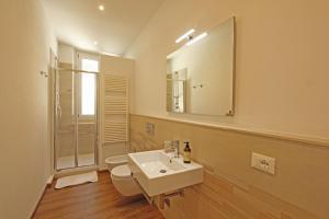 Een badkamer bij Domus Fernanda