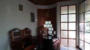 A seating area at Corner House