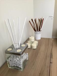 A kitchen or kitchenette at Appartamento Tortona Navigli