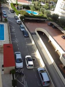 Een algemene foto van Benidorm of een uitzicht op de stad vanuit het appartement