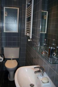 A bathroom at Denneweg Apartment The Hague
