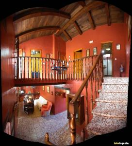 A restaurant or other place to eat at Casa del Huerto