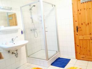 Ein Badezimmer in der Unterkunft Ferienwohnung Sievers