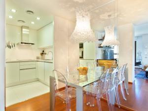 Rambla Luxury Apartment廚房或簡易廚房