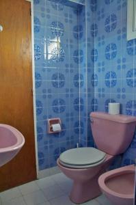 Un baño de Calido departamento en el centro