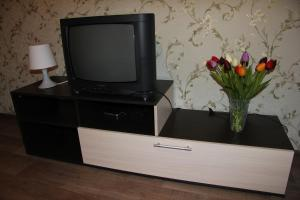 A television and/or entertainment center at Apartment on Nevskogo Street 16