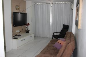 A television and/or entertainment center at Ametista Flat
