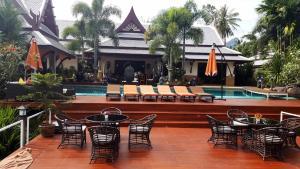 Bassein majutusasutuses Villa Saifon AoNang Krabi või selle lähedal