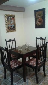 Un restaurante o sitio para comer en Apartamento La Esperanza