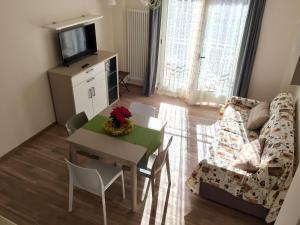 Area soggiorno di Casetta Accogliente