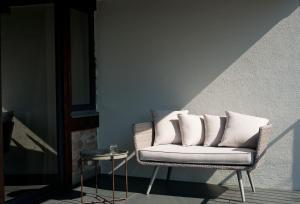 Ein Sitzbereich in der Unterkunft 1463 Apartmenthaus