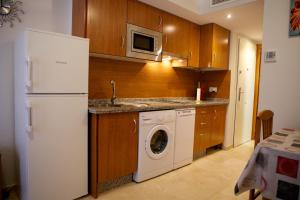 Una cocina o zona de cocina en Apartamento Los Patos