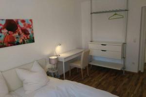 Ein Bett oder Betten in einem Zimmer der Unterkunft Apartment Avenzio
