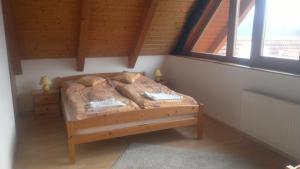 Postel nebo postele na pokoji v ubytování Apartment Lipno
