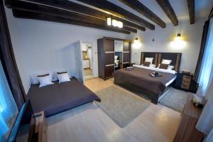 Letto o letti in una camera di Hermannstadt House