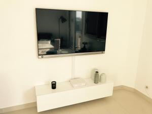 A television and/or entertainment center at Villa Picon