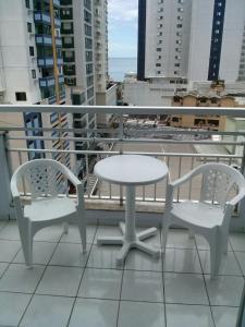 A balcony or terrace at Edificio São Francisco