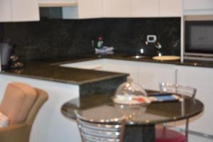 Küche/Küchenzeile in der Unterkunft PS Orion