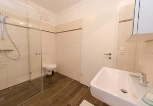 Ein Badezimmer in der Unterkunft Ferienwohnung Lechner