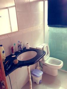 Un baño de Casa Cachoeira do Bom Jesus