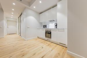 Majoituspaikan Pronksi 3 Apartments keittiö tai keittotila