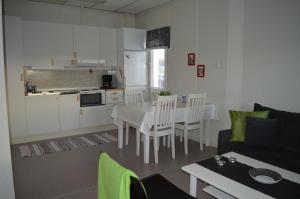 Ett kök eller pentry på Vreta Kloster Golfklubb